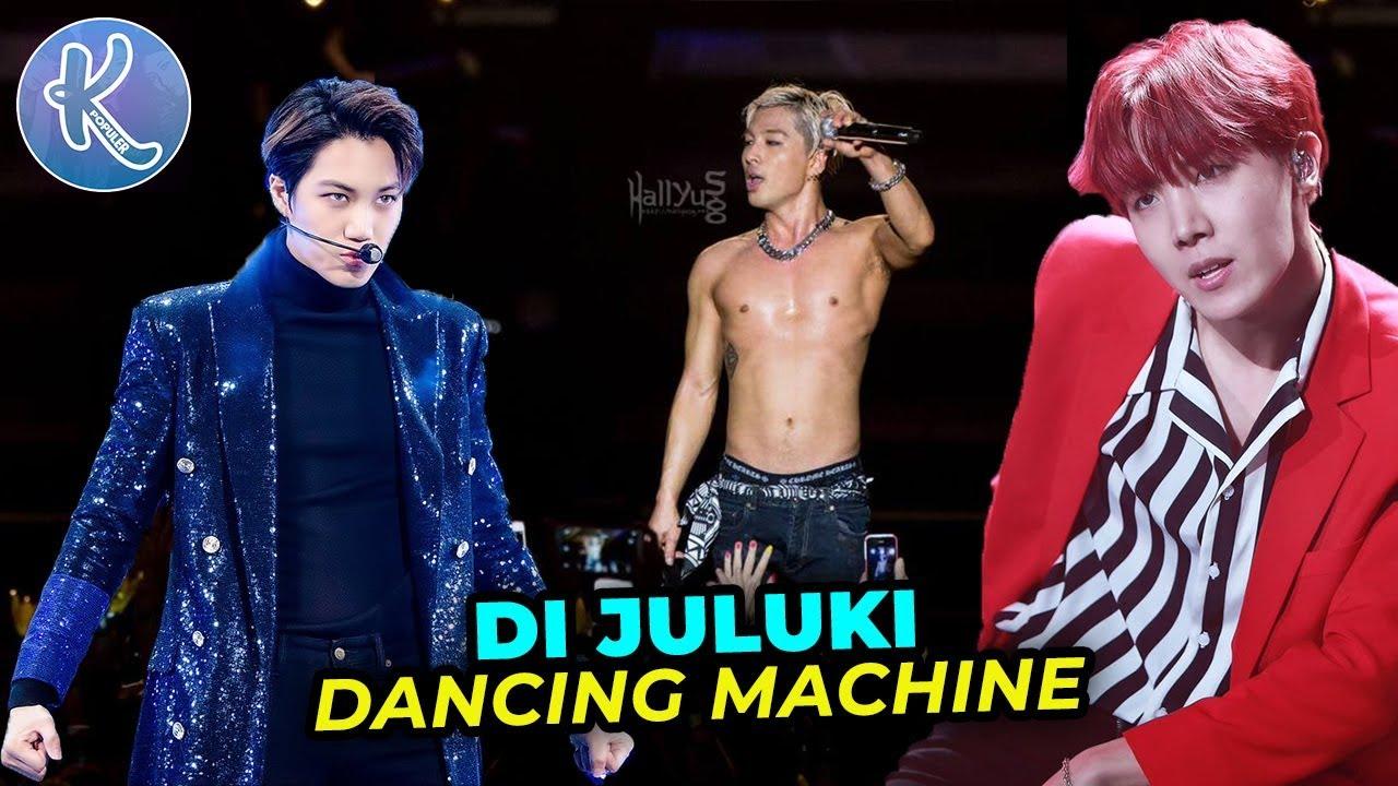 10 Member Boy Grup Kpop Berjuluk Dancing Machine Youtube