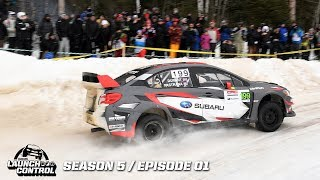 Launch control: rally perce neige / sandell in sweden – episode 5.01