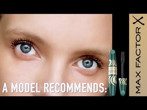 759dcec96c6 A Model Recommends Max Factor Voluptuous False Lash Effect Mascara - YouTube