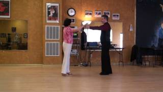 American Tango Lesson 1, Basic