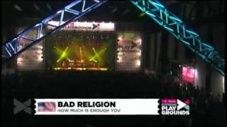 Bad Religion - How Much Is Enough (Live 2010)
