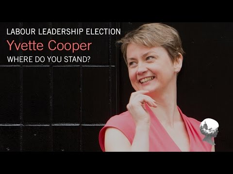 Who is Yvette Cooper? Labour Leadership Election.