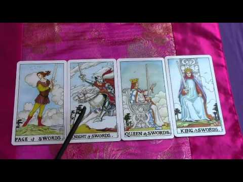 Learn Tarot Suit of Swords Minor Arcana Pt5