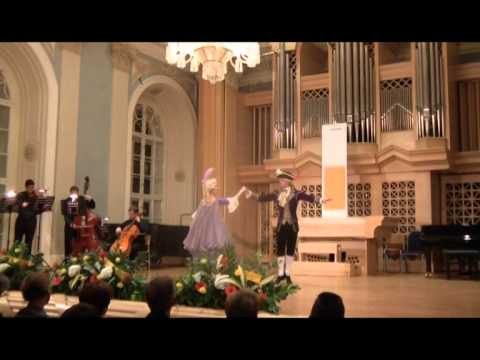Rococo Menuet to the music of Boccherini