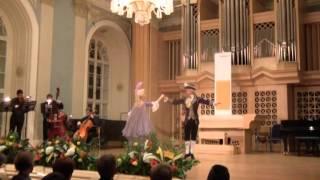 Rococo Menuet to the music of Boccherini
