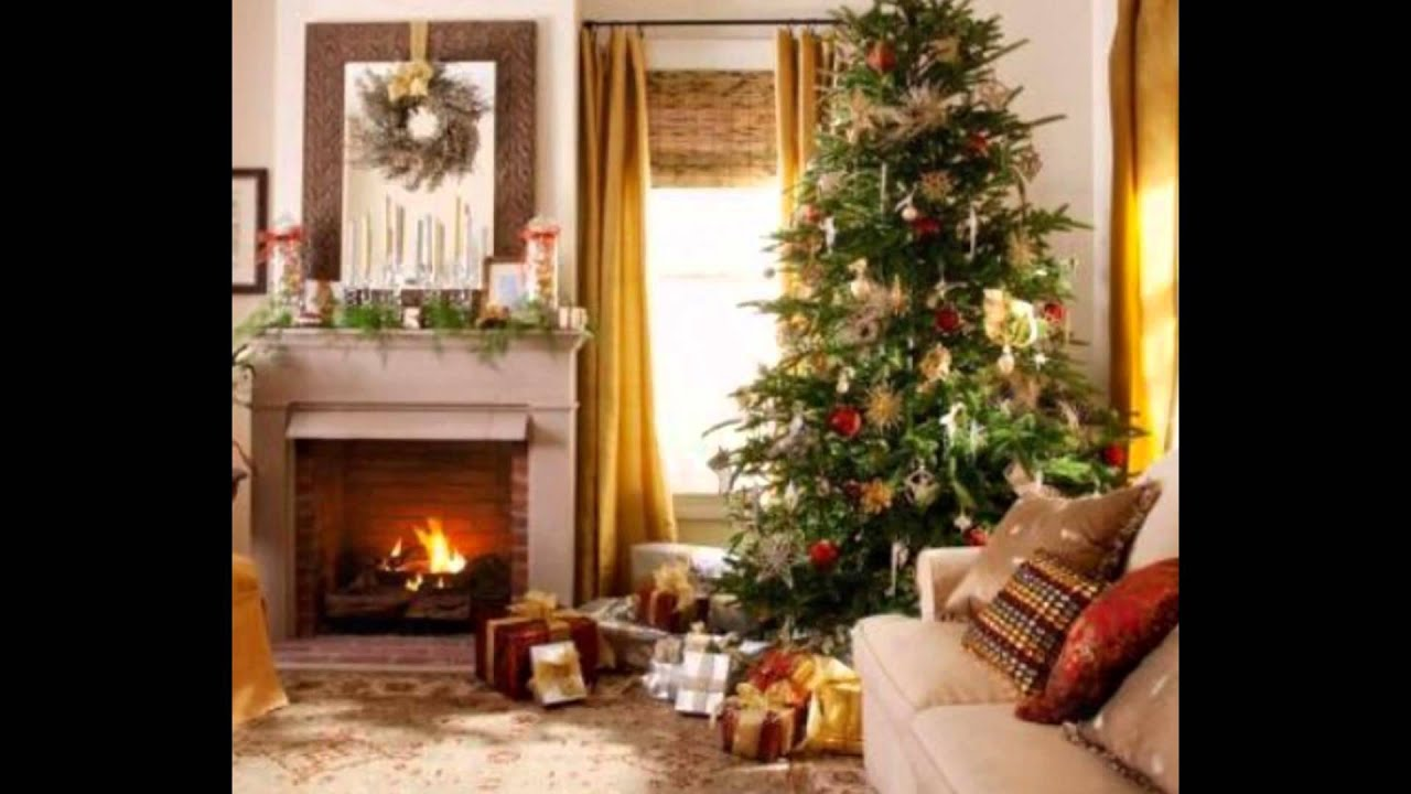 Decorate Your Living Room For Christmas Living Room Decorating Ideas Description Youtube