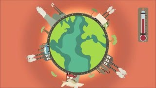 SPIEGEL-Animation: Wie wir uns die Welt warm essen [Klimawandel | Regenwald | Welthunger]
