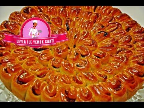 Haselnuss Rosenkuchen -  Fındıklı Çiçek Pastası