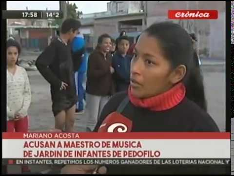 Acusan a profesor de música de Jardín de Infantes de pedófilo