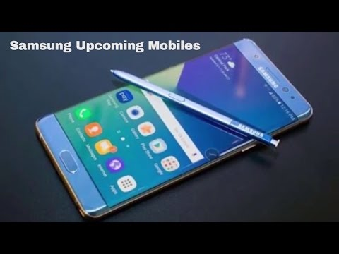 Samsung Upcoming Mobiles with Price