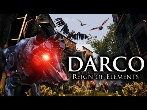STEAMPUNK SURVIVAL WITH DRAGONS! - DARCO: Reign of Elements (Inspired by Horizon Zero Dawn & Ark)