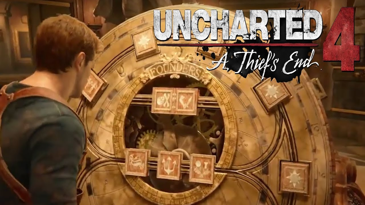 Uncharted 4 A Thiefs End Chapter 11 Puzzle Solution Wheel Of