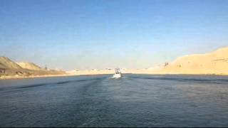 New Suez Canal before 17 days of opening