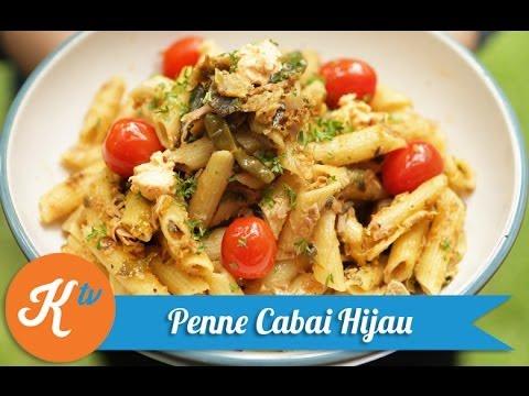 resep-pasta-cabai-hijau-(green-chili-pasta-recipe-video)-|-melati-putri