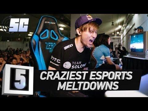 5 Craziest Meltdowns in eSports History | LoL eSports