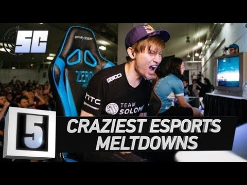 5 Craziest Meltdowns in eSports History | LoL eSports