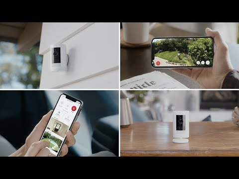 Protect Your Home & Family With Ring Stick Up Cam | Indoor & Outdoor Security Camera