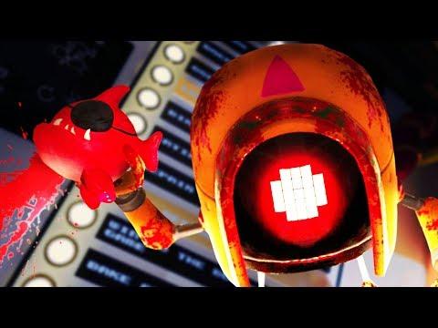 THE MONSTER'S SECRET FINAL ENDING!!?! Duck Season + FNAF (Dwingle Bot VR HTC Vive)