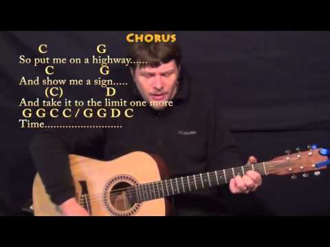Take It To the Limit (The Eagles) Strum Guitar Cover Lesson in G with Chords/Lyrics