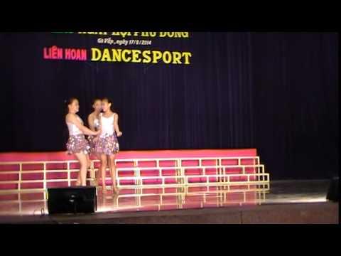 Liên hoan dancesport nhà thiếu nhi quận Gò Vấp 17/08/2014