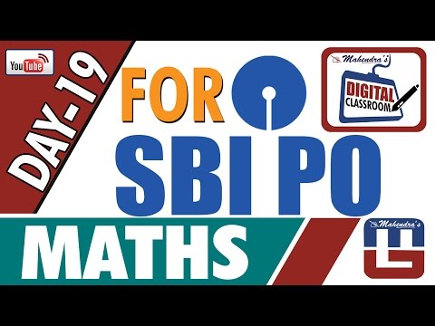 RATIO AND PROPORTION HIGH LEVEL | MATHS | DAY - 19 | DIGITAL CLASS | SBI PO 2017 |
