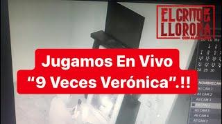 """JUGANDO EN VIVO, """"9 VECES VERONICA""""!!"""