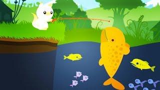 Catching HUGE Fish! - Cat Goes Fishing Gameplay