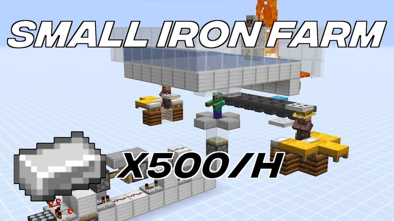 Small Iron Farm 1 14 3 Youtube