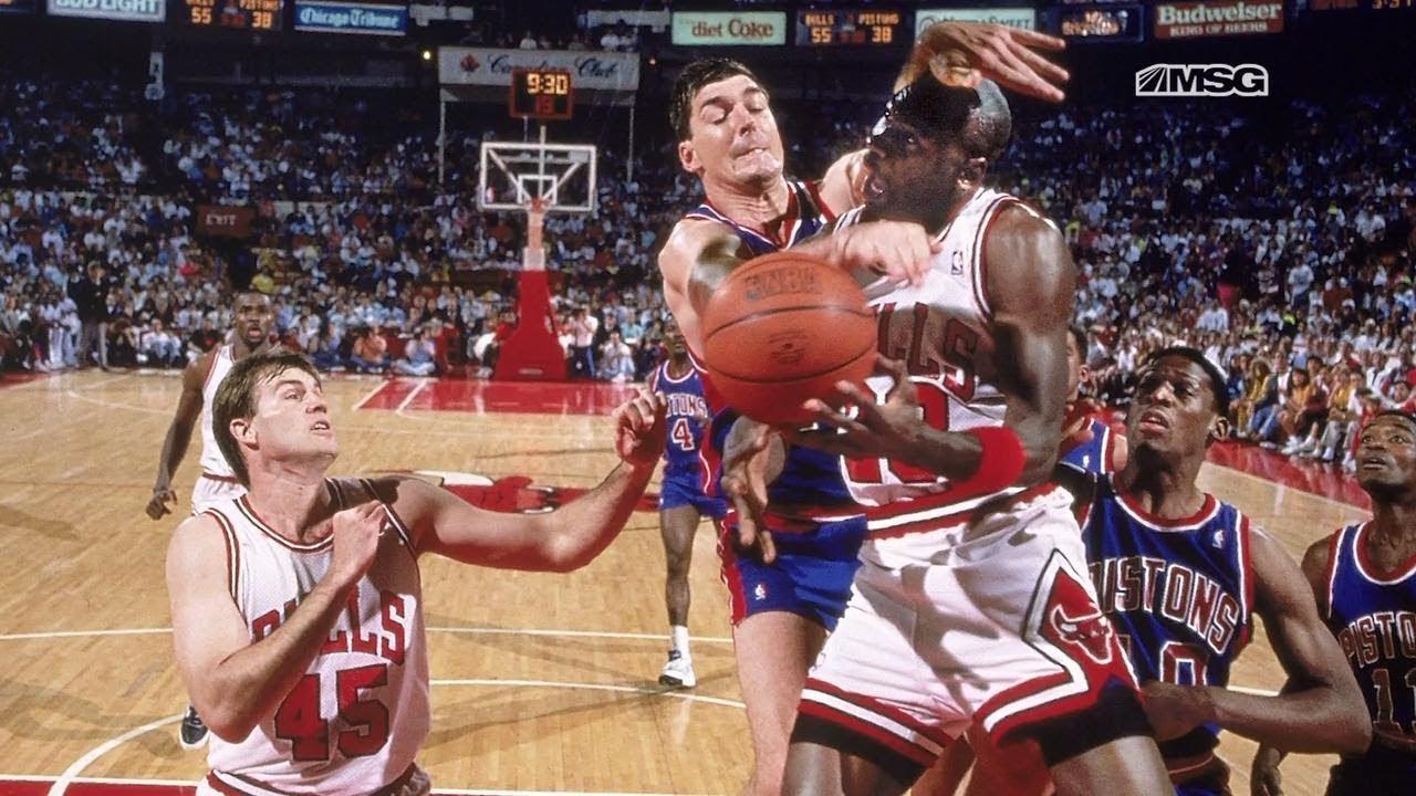 8個瞬間感受當年NBA高強度防守:只要是喬丹上籃,就不會讓他平穩落地!-籃球圈