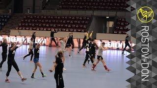 Тренировка перед матчем с «Копенгагеном»