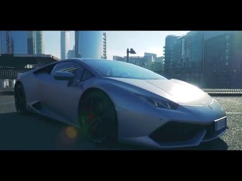 Lamborghini Huracán at Milan Fashion Week