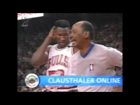 Chicago Bulls - Portland Trail Blazers - NBA Finals G2 - 1992.06.05 - DSF