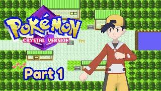 Pokemon Crystal | New Bark Town, Map Card, Mr. Pokemon | Part 1