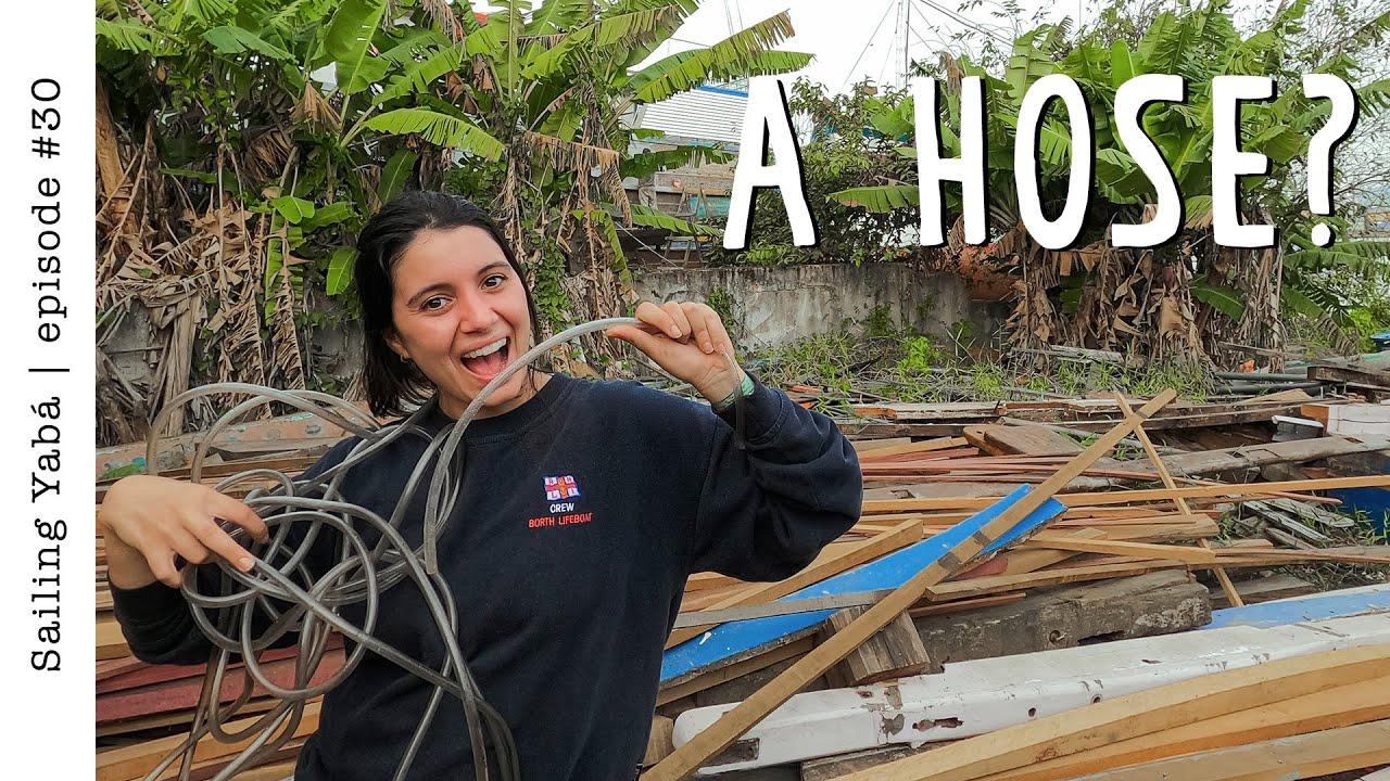 Brazilian shipwrights using UNEXPECTED tools — Sailing Yabá #30