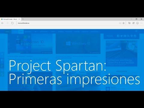 Project Spartan en Windows 10: Primeras Impresiones
