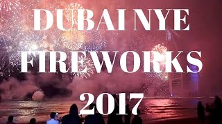 [HD] NEW YEAR FIREWORKS DUBAI 2017 - BURJ AL ARAB (FULL VIDEO)