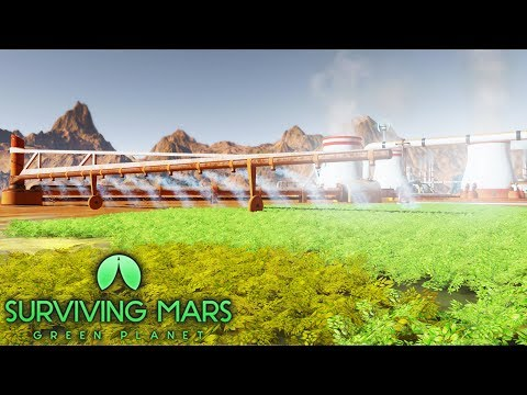 [LIVE🔴] FIRST LOOK | Building Cities on Mars & New Green Planet DLC | Surviving Mars DLC Gameplay