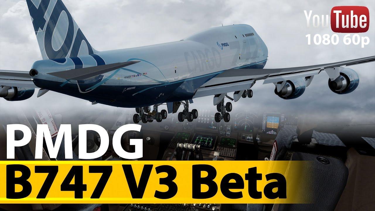 PMDG 747-400 QOTSII P3D v3 4 Beta