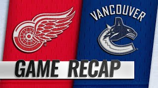 Pettersson lifts Canucks to 3-2 victory in return
