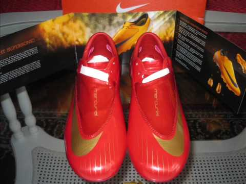 size 40 b882b dc899 Nike Mercurial Vapor IV FG - RedGold