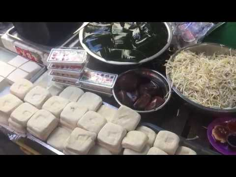 Asian Market Street Food, Wet Market, Market Food In Asia
