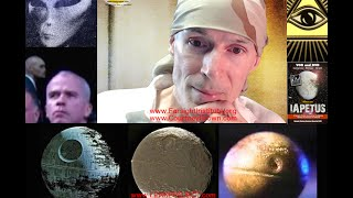 """Aliens on the Moon of Saturn, """"Iapetus"""", The Real Death Star Dr Courtney Brown"""
