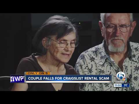 Snowbird couple victimized by $2,100 Craigslist scam