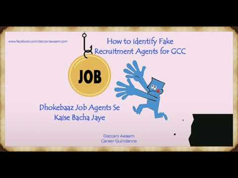 How To Check Fake Gulf Recruiters or Agents