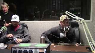 Craig Campbell sings Outskirts of Heaven on WLYU Radio