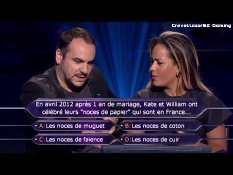 Qui Veut Gagner Des Millions (QVGDM) - 25/08/2012 - Amel Bent et François-X. Demaison