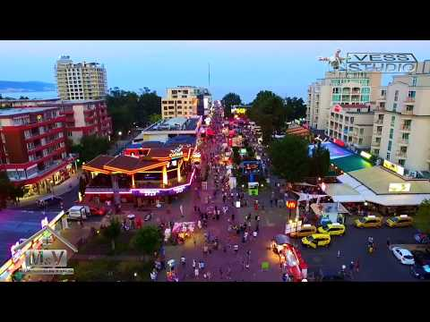 Sunny Beach Bulgaria night life / What Happens In Sunny Beach 08/2017