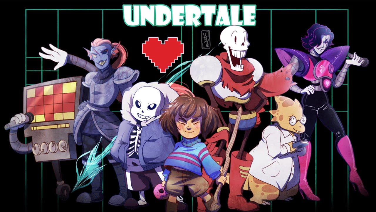 Cute Undertale Determination Wallpapers Top 10 Strongest Undertale Characters ᴴᴰ Youtube