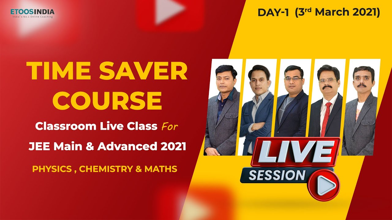 Orientation Video of Time Saver Course for JEE 2021 (Part-2) | Etoosindia