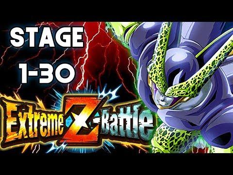 Extreme Z Awakening CELL TEQ STAGE 1-30! Dragon Ball Z Dokkan Battle ITA